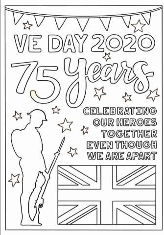 VeE Day Poster