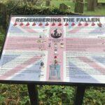 The commemorative information board